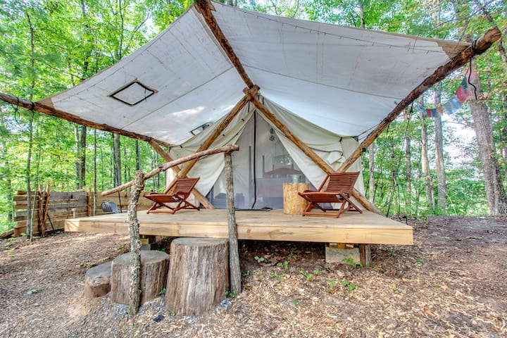 Canopy Ridge Safari Tent 1-Open May 1