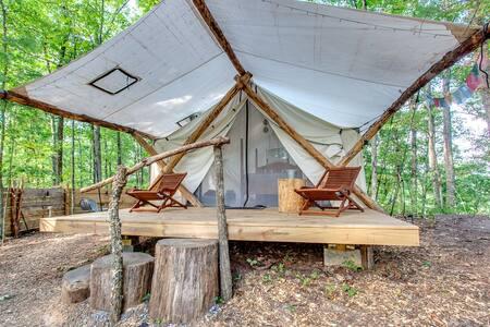 Canopy Ridge Safari Tent 1