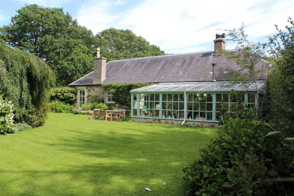 Garden and conservatory
