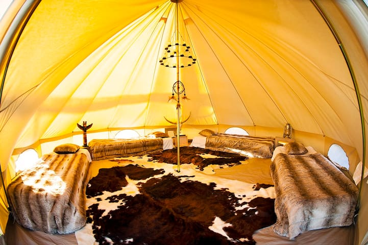 Errekondoa: Lodge 3 (tente inuit) - La Bastide-Clairence - Kızılderili Çadırı