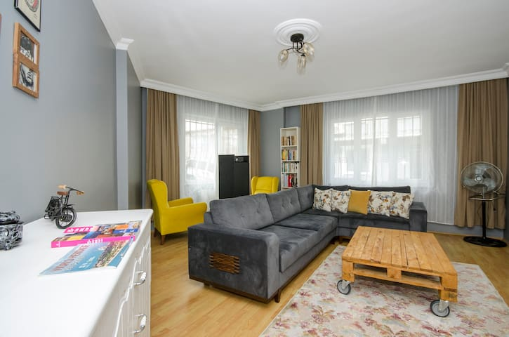 Cozy desing&Large apartmant @Golden Horn
