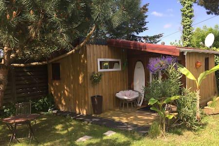 La cabane de Carol au coeur du bassin d'Arcachon - Le Teich - Mökki