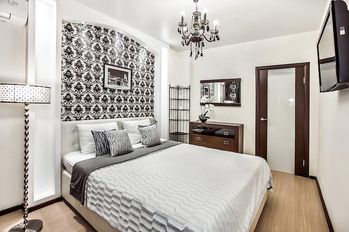 Apartment on Yuzhnoe shosse 27А    Sutki Life
