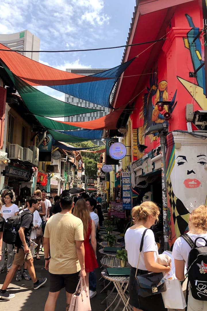 Discover the secret story to Haji Lane