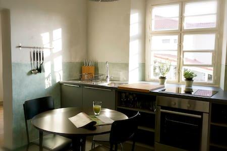 Retro-Industrial Design Apartment