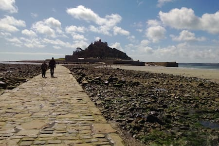Apartment close to St.Michaels Mount - Appartement