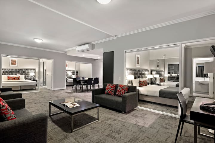 Quest Campbelltown - 3-bedroom Apartment