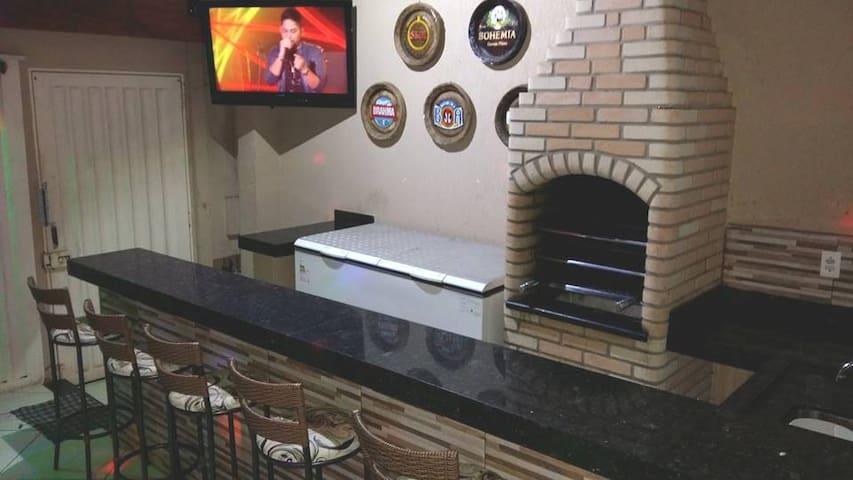 Linda casa para hospedagem em Uberaba