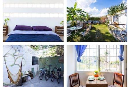 Beautiful Terrace! 1 Bedroom Apt ॐCasa OMॐ Bikes!! - Playa del Carmen - Lägenhet