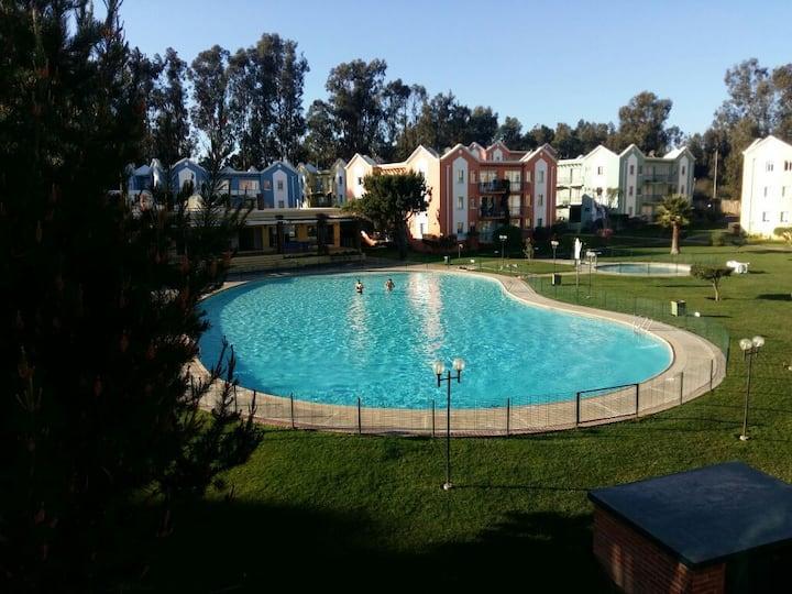 Amplio y acogedor apartamento en Algarrobo Norte