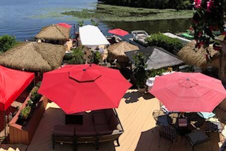 Greenwood Lake Tropical Tiki Paradise