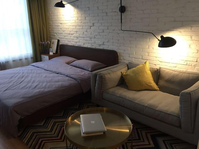 魔尔公寓#魏公村 行政一房式公寓 - Beijing - Apartotel