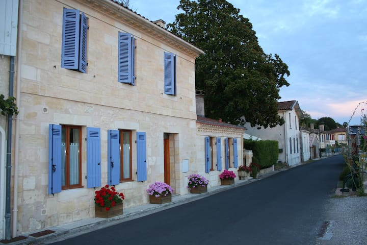 Roque Pigeon Estuaire de la Gironde - Bayon-sur-Gironde - Apartment