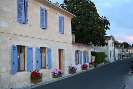 Roque Pigeon Estuaire de la Gironde - Bayon-sur-Gironde - Huoneisto