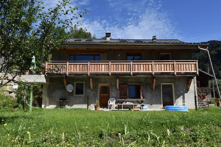 Le Chalet Mireille : un appartement à la montagne