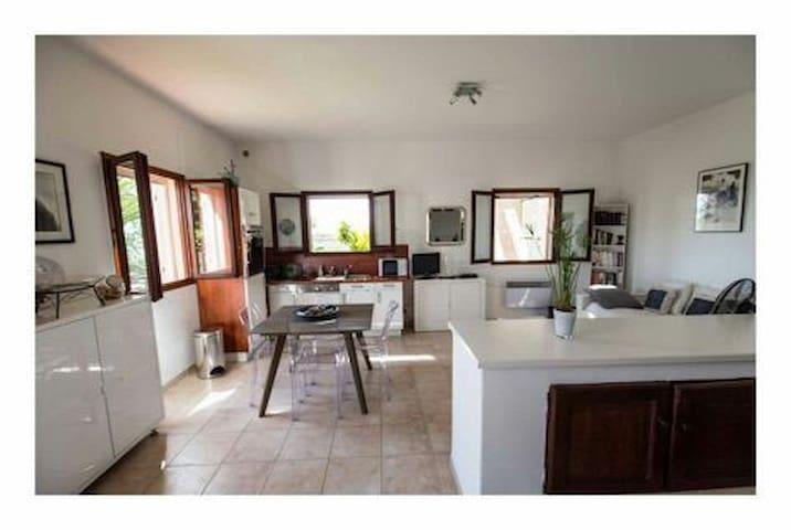Grand studio  48 m2 RDC villa - Ajaccio - House