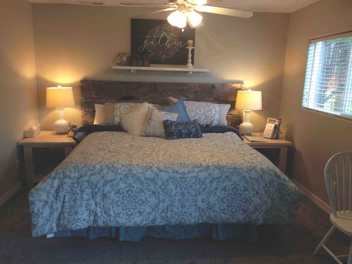Spotless Master Suite w/ Private Entrance and Bath