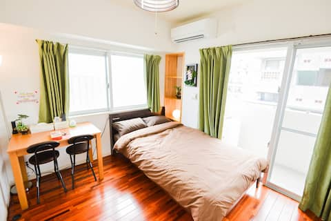 New! Clean Room! 5mins to Miebashi/Tomarin! 5B