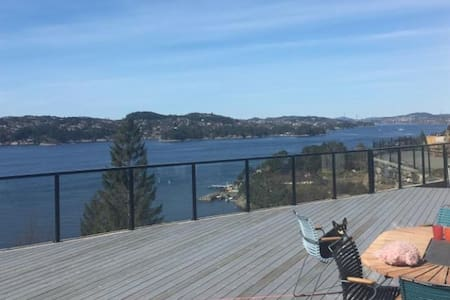 House with  spectacular seaview in Bergen!