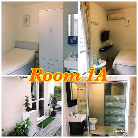 Cozy double bed room 東涌鄉村雅緻雙人房