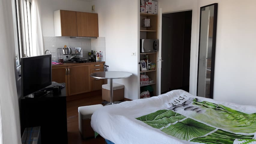 Lovely studio 15-20min. from the heart of Paris!