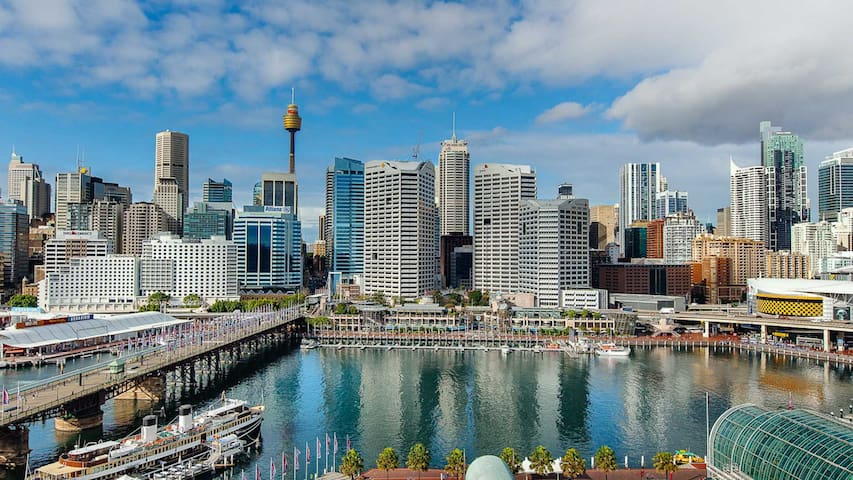 Great Location: Darling ONE  Harbour 2 bedroom apt