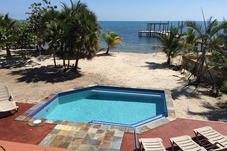 2 bdrms, kitchens, AC, wifi Placencia, furnished - Placencia