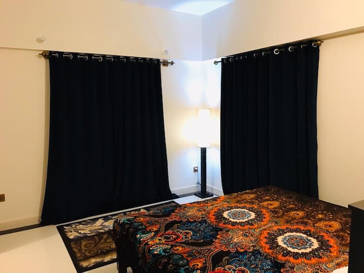2Bed Room apartment  Newly Furnished