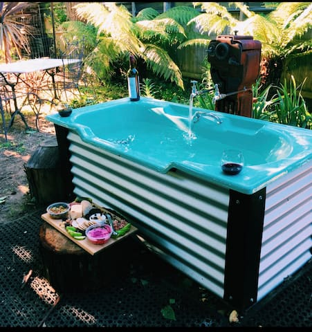 Outdoor Bath Experience - divine!