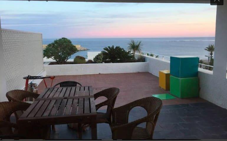 Ático frente al mar - Carboneras - Apartamento