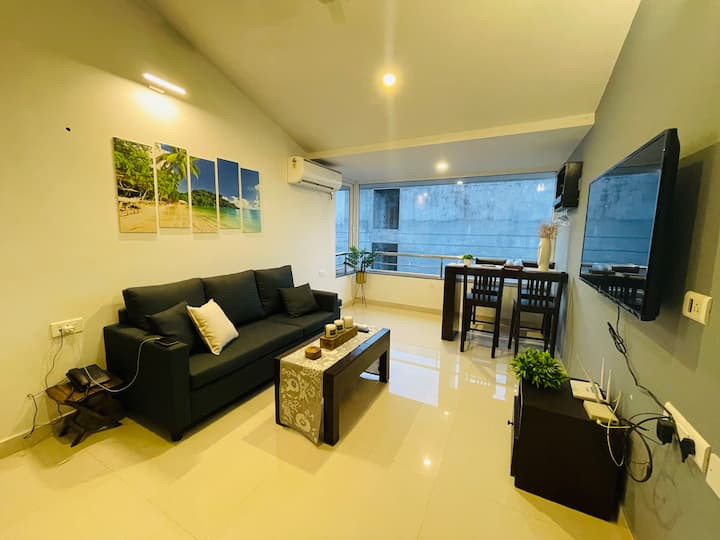 1BHK Apartment in Colva, 500mts from the beach