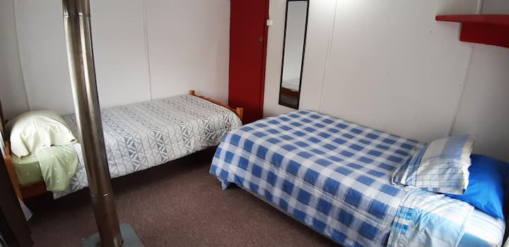 Habitación privada 2 o 3 pax - Centro de Pucon