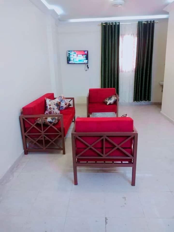 Luxurious studio apartments close the Nile