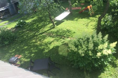 garden place for your tent with WIFI - Pärnu - Tent - 1