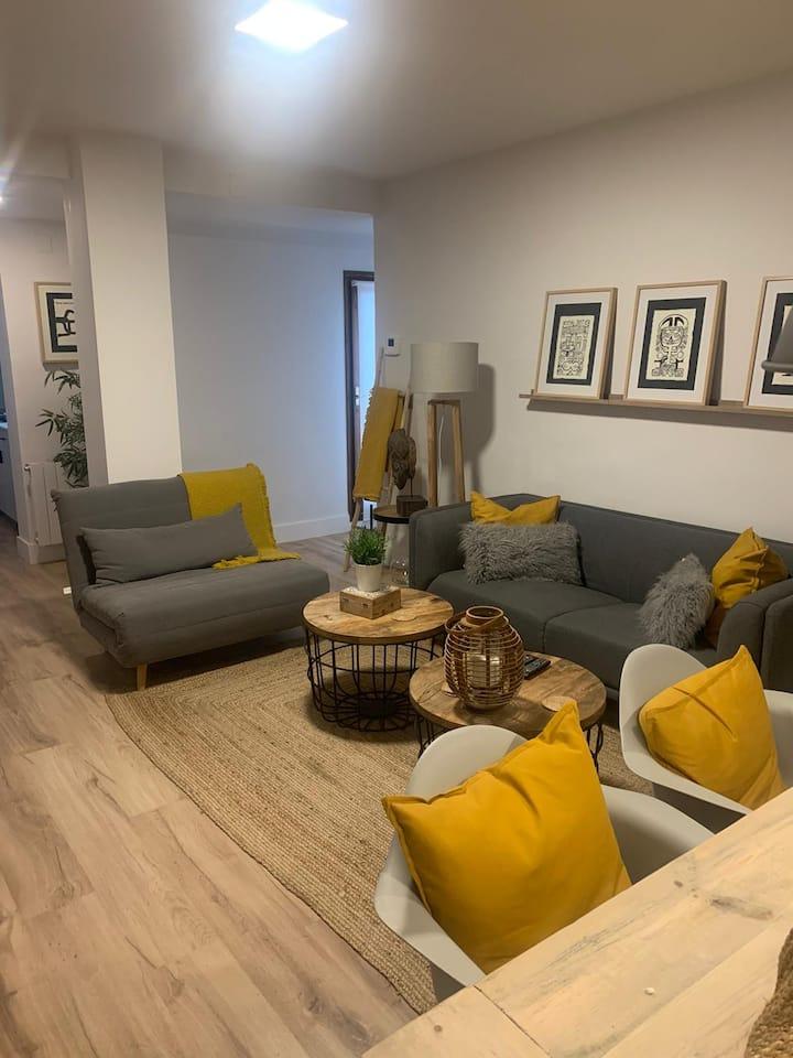 Apartamento de 2 habitaciones en el centro de Jaca