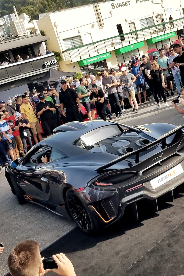 2019 McLaren 600LT surprise show up.
