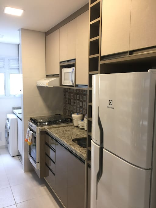 Cozinha Completa Máquina Lava e Seca