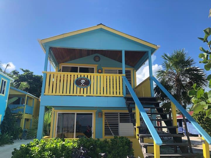 Prime Beach Front Lower Condo - Colinda Cabanas 1B