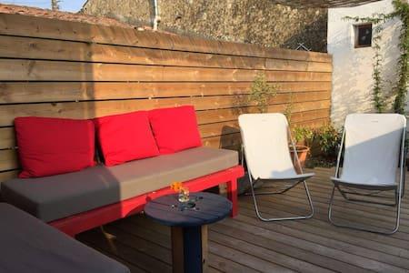 Espace indépendant 30m² + terrasse - Maison de ville