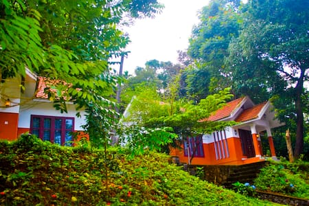 Private room in a Villa with a View at Wayanad