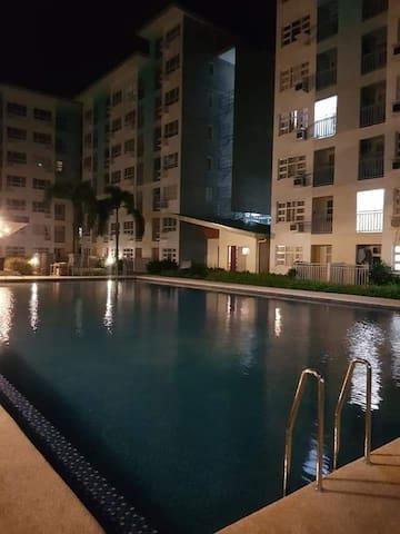2 Bedroom Condo Unit, ground floor with pool
