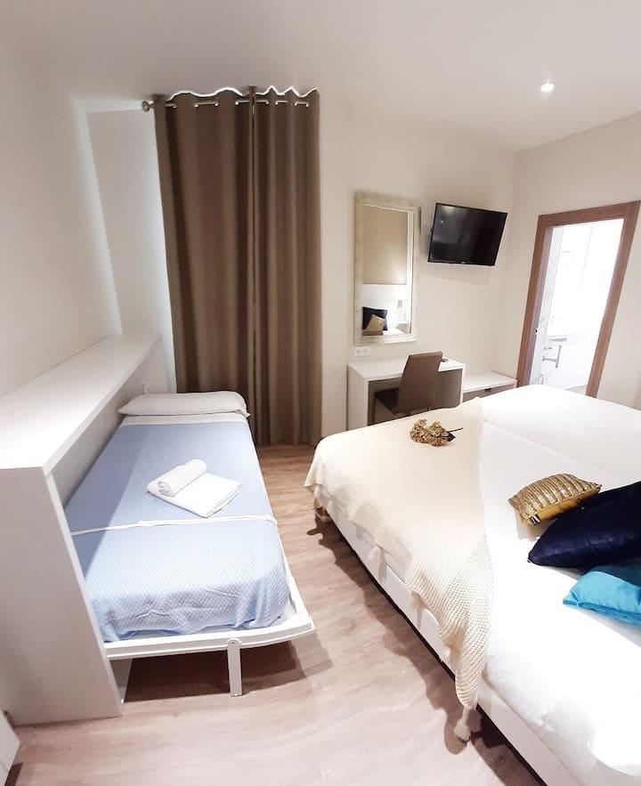 Hotel La Terraza - Habitación Triple con 3 camas