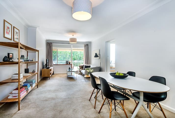 Chic, Inner West apartment by a park and Harbour.