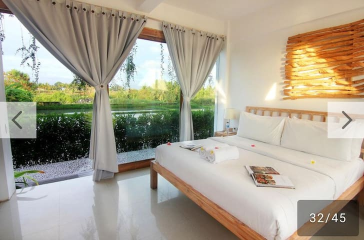 One Bedroom Villa with ricefield view near beach