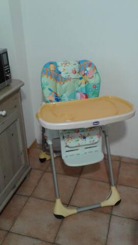 Seggiolone Chicco pappa neonato
