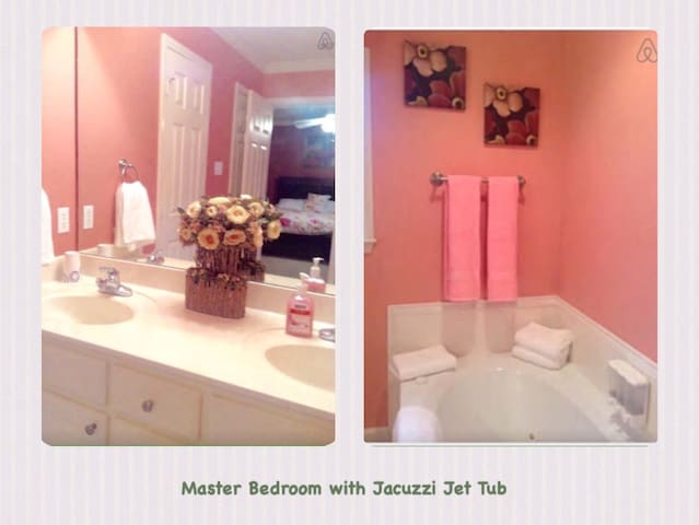 Fully Furnished Entire Home 4bdrms! Super Clean! - Jacksonville - Casa