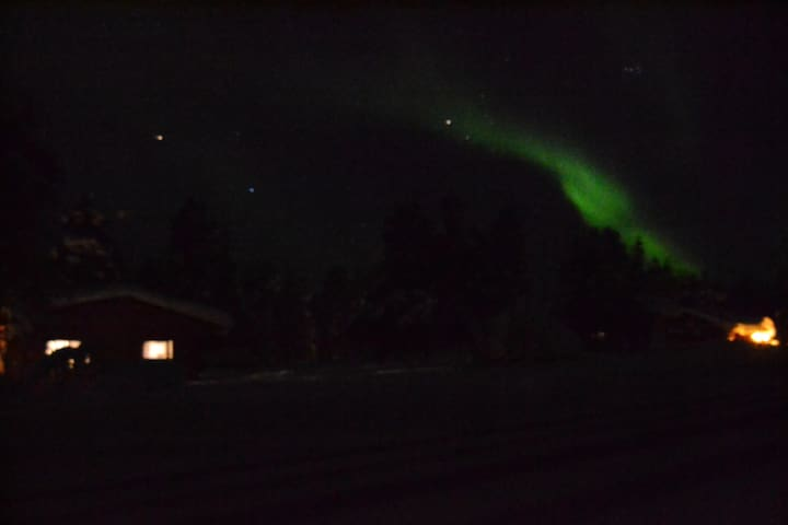 Northern lights house