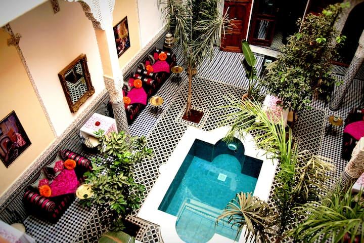 ❤Petit Palais XVII - Fez - Casa