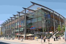 "The shopping mall in Pforzheim ""Schlössle Galerie"" - close to your apartment"