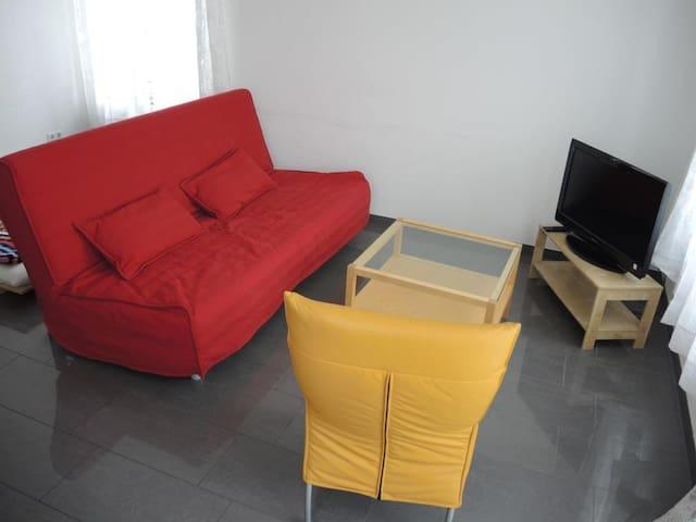 Wohnapartment mit Schlafzimmer /Gartenblick-No.3 - Schwäbisch Hall - Apartemen